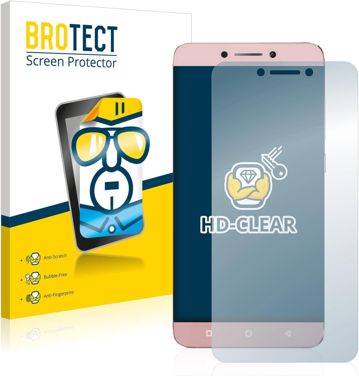 BROTECT Protector Pantalla Compatible con LeEco Le MAX 2 Protector Transparente (2 Unidades) Anti-Huellas: Amazon.es: Electrónica