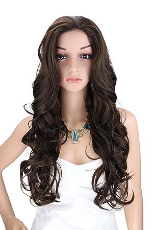 Kalyss Longue perruques Bouclés Cheveux de