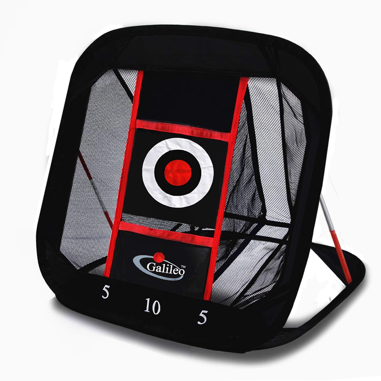 Hubble ゴルフ ヒッティング ネット チッピング 練習用ネット 裏庭用 屋内用 スポーツ 30x27inch 1-target B07GSSB1JZ