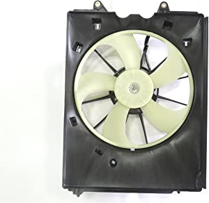 TYC 601490 Replacement Left Cooling Fan Assembly
