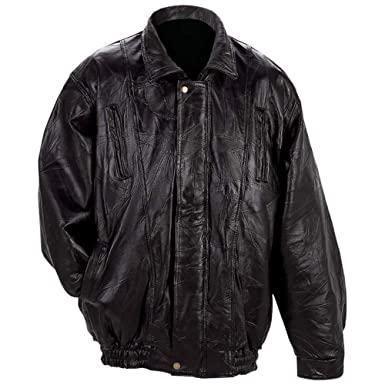 Italian Mosaic Design Genuine Lambskin Leather Jacket style ...
