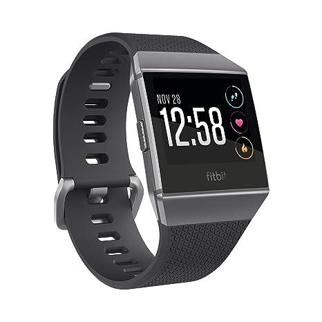 Fitbit Ionic, El Smartwatch Deportivo, Carbón/Gris Cobalto