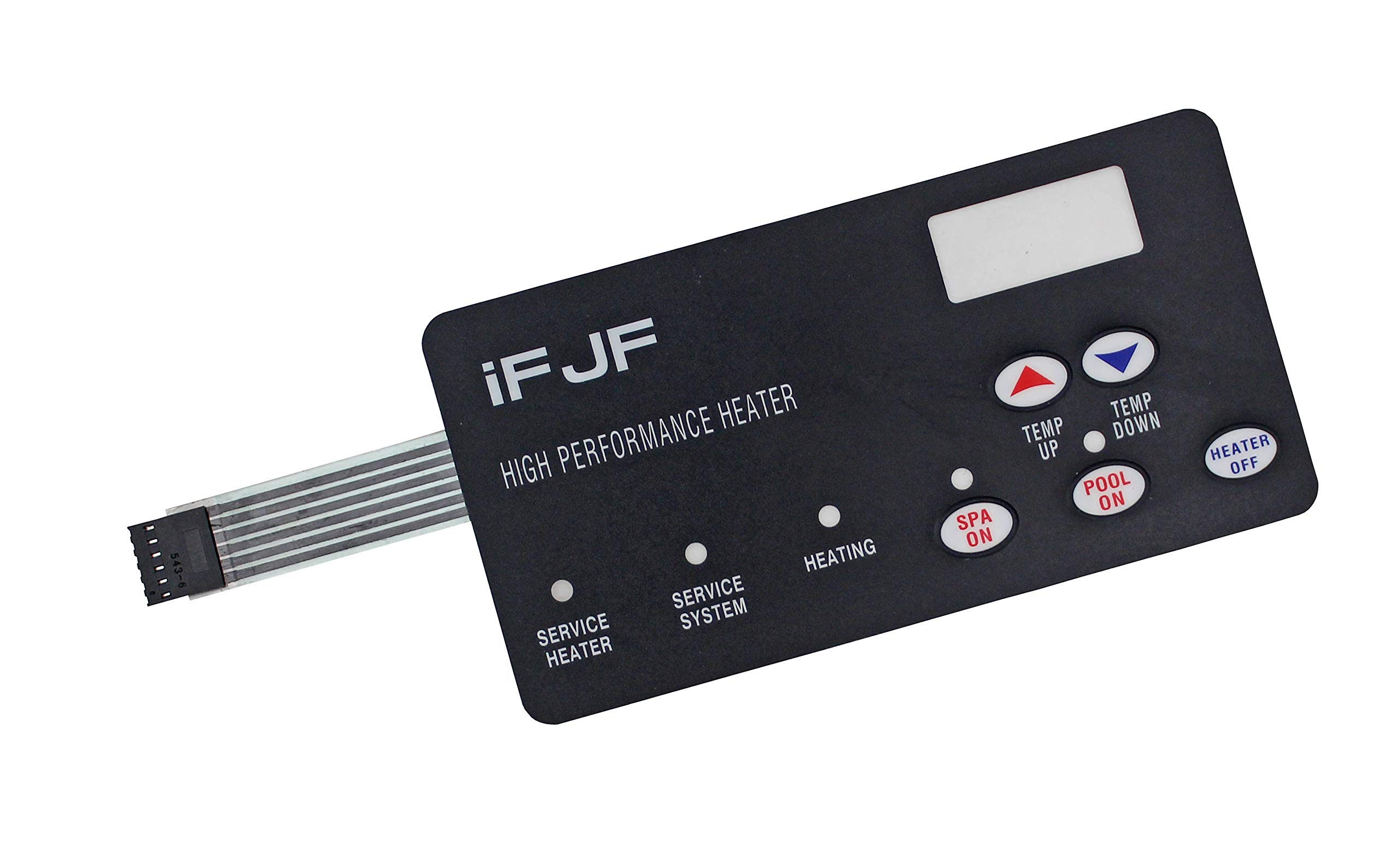 iFJF Switch Membrane Pad Replacement #472610Z Replace for Pentair Compatible for MasterTemp Pool and Spa Heater Electrical System by iFJF