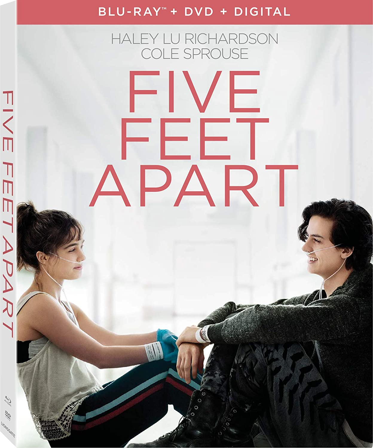 Amazon.com: Five Feet Apart [Blu-ray]: Cole Sprouse, Parminder ...