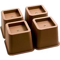 Design61 Meubelverhoger bedverhoging meubelverhoging tafelverhoger olifantenvoet bed riser hoogte ca. 10 cm 4st voor…