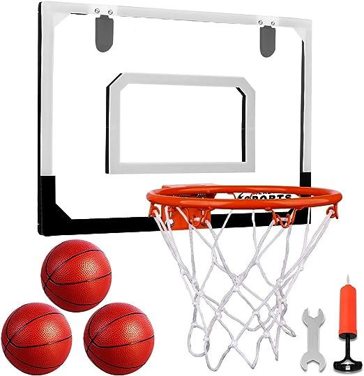 AOKESI Indoor Mini Basketball Hoop Set - Best Complete Set