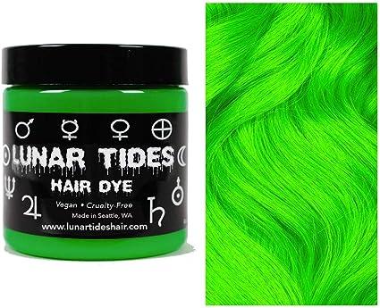 Aurora Green, tinte semi permanente para el cabello verde - 118 ml - Lunar Tides