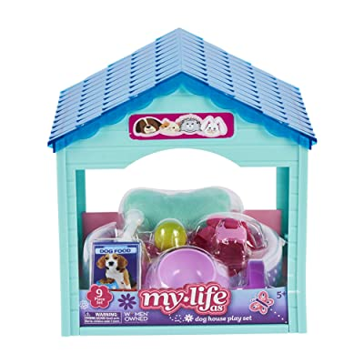 My Life As... Dog House Playset Green Roof: Toys & Games