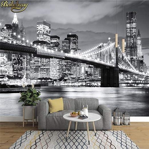 ZCHENG Papel tapiz fotográfico BROOKLYN BRIDGE NEW YORK ...