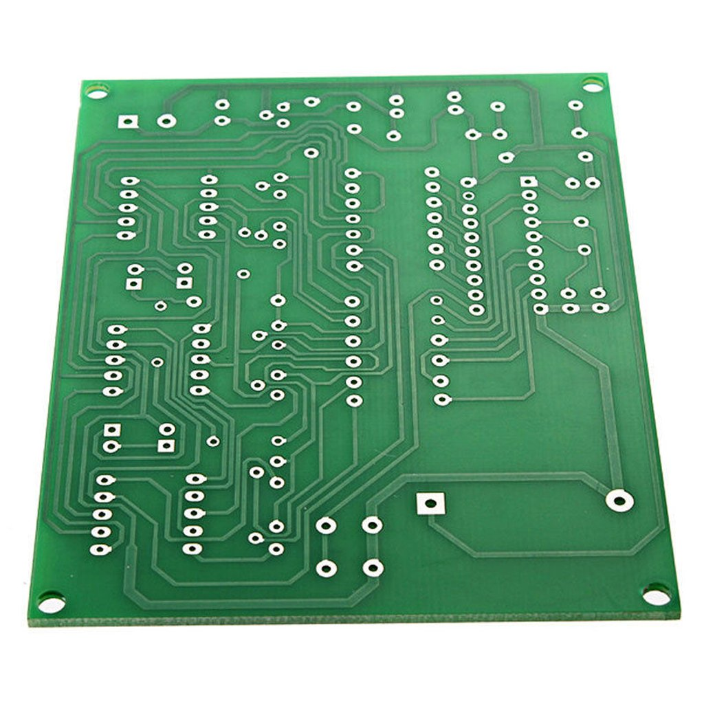 Magideal Diy Pcb Circuit Board Digital Led Electronic Clock Alarm Kit Time Kits Set 6 Digit