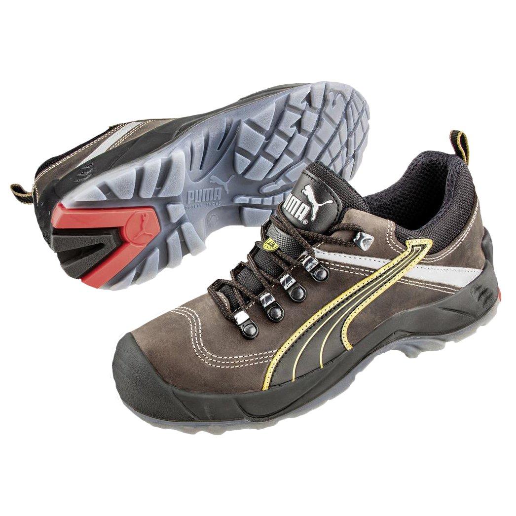 Puma Safety Shoes Condor Low S3 SRC, Puma 640541-204 Unisex-Erwachsene Espadrille Halbschuhe, Braun (braun/schwarz 204), EU 40  40