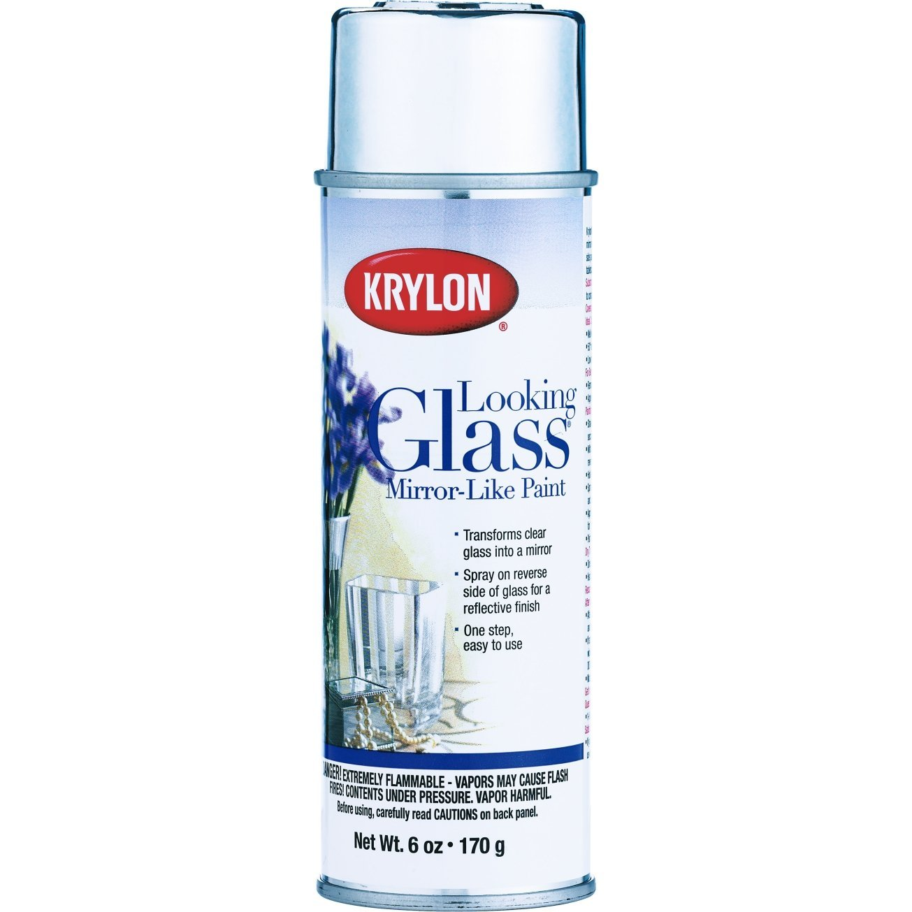 6 Oz Looking Glass Mirror Like Spray Paint [Set of 6]