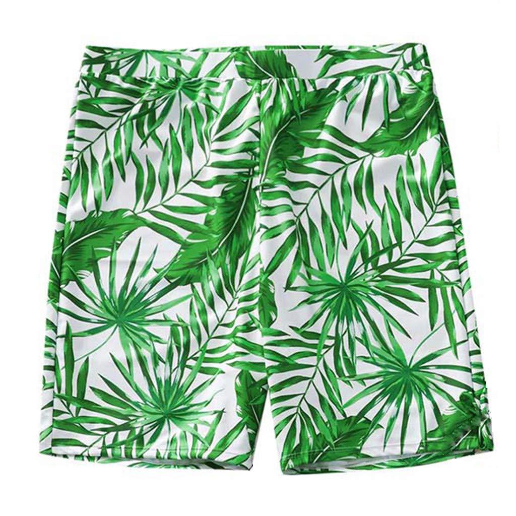 NUWFOR Baby Boys Swimwear Running Surfing Sports Beach Shorts Trunks Board Pants(Z-Green,3-4Years)