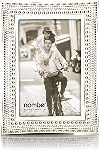 Nambe Beaded Picture Frame, 4