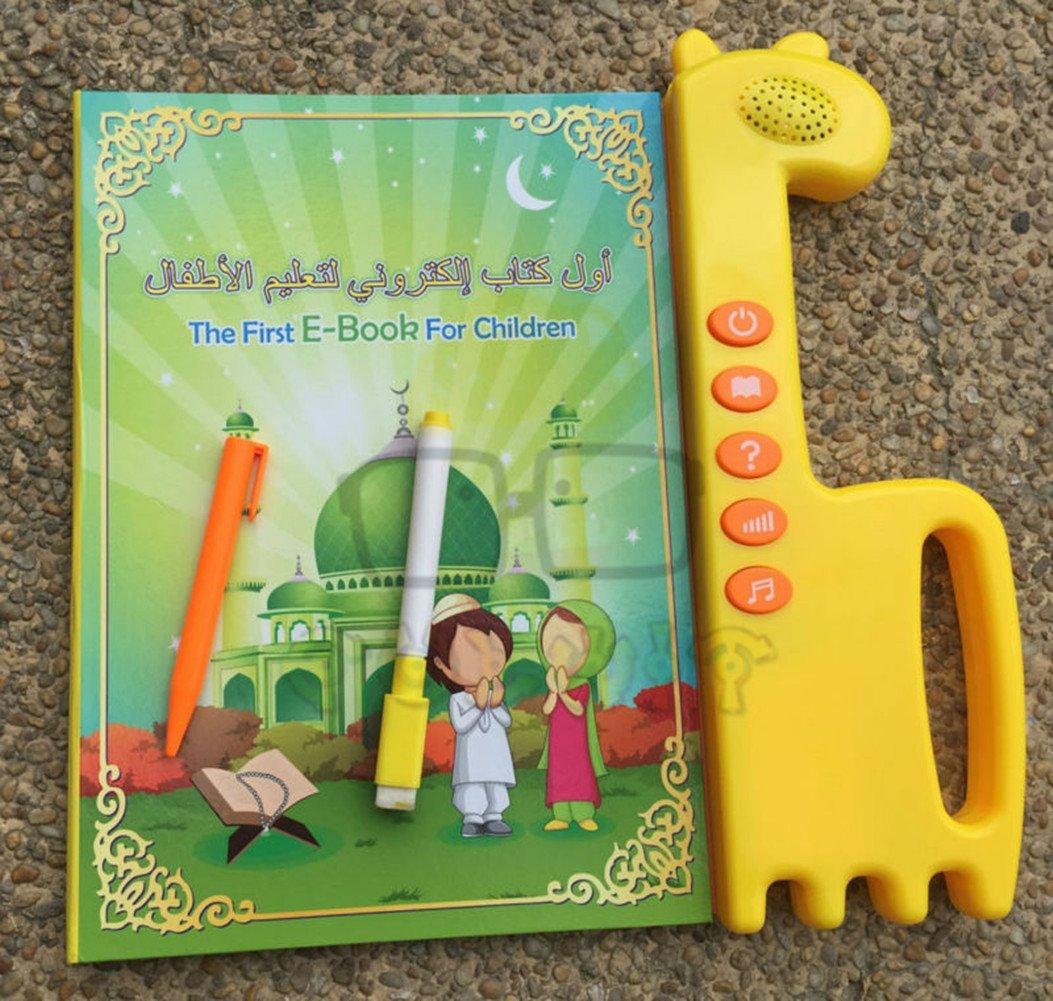 YOOMUN Muslim Islamic Reading Machine Quran Electronic, English&Arabic Eord, The First Children E-book- Best Gift Toy