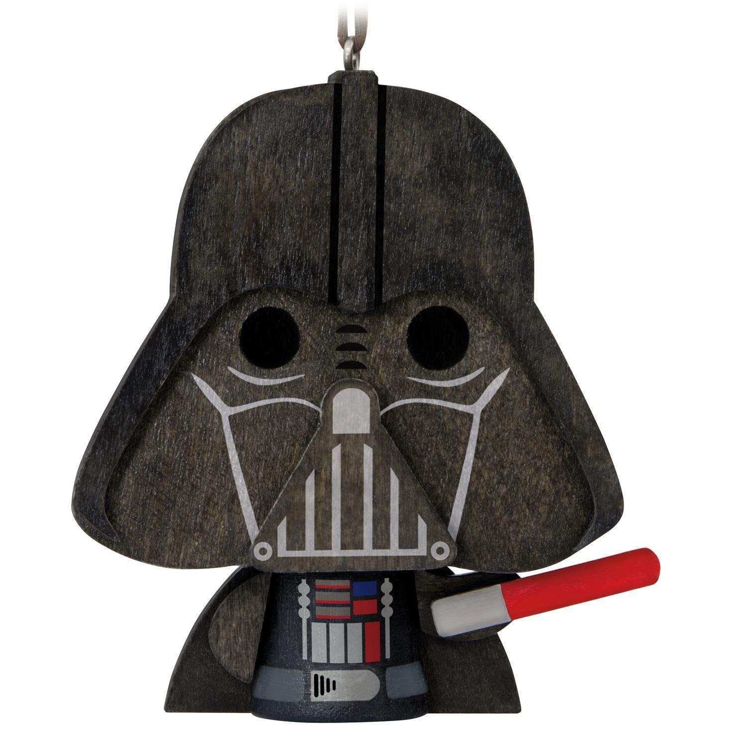 2017 Hallmark Star Wars Darth Vader Wood Ornament