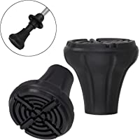 ALPIDEX Rubber Buffer for Nordic Walking poles Pads for Trekking poles various models 2 pair / 4 pair / 6 pair for all common pole models