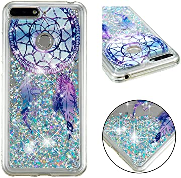 coque paillette huawei y6 2018