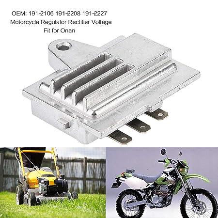 Duokon DC 12V motocicleta rectificador regulador de voltaje ...