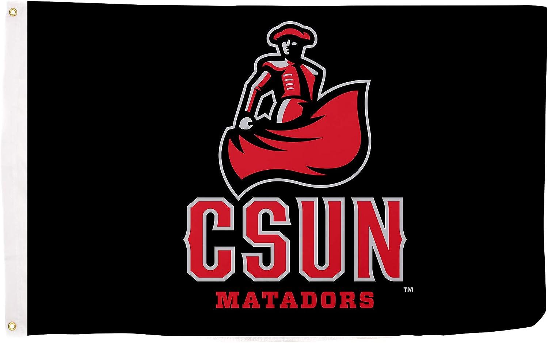 Desert Cactus California Cal State University Northridge CSUN Matadors NCAA 100% Polyester Indoor Outdoor 3 feet x 5 feet Flag