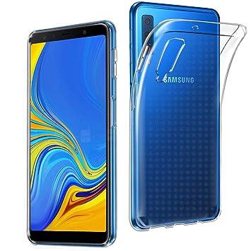 the latest 8fd41 9d42e Samsung Galaxy A7 2018 Case, AVIDET Shock-Absorption: Amazon.co.uk ...