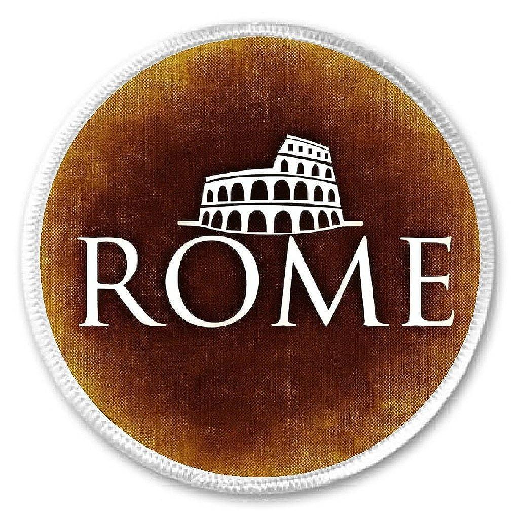Rome Colosseum 3' Sew On Patch Coliseum Flavian Amphitheatre Italy