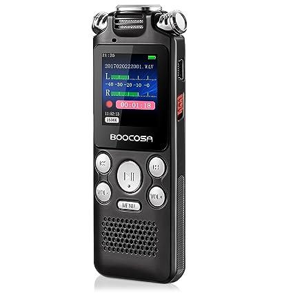 amazon com voice recorder 8gb audio sound recorder portable