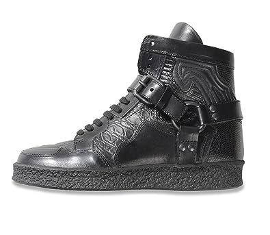 1dd1014ced0d9c DIESEL BLACK GOLD Damen Hi HIgh Top Leder Sneaker Schuhe Stiefel (EU 37   US