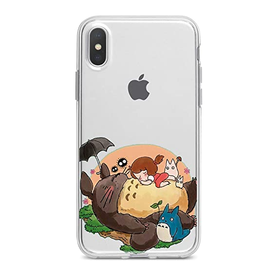 the best attitude 429fc 632f3 Lex Altern TPU iPhone My Neighbour Totoro Case 10 Max X Xs Xr 8 Plus 7 6s 6  SE 5s 5 Clear Animal Apple Bunny Phone Cute Cover Anime Painted Print ...