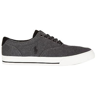 Polo Ralph Lauren Zapatillas Deportivas Hombre Charcoal Grey: Amazon.es: Zapatos y complementos
