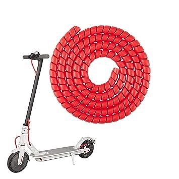 Atuka Cable Espiral de Scooter Rojo para Xiaomi m365 / Pro ...