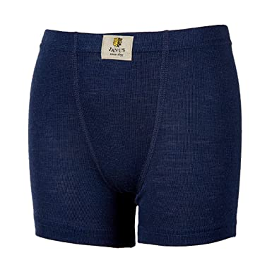bb3efb3b16d8e Janus 100% Merino Wool Kids Boy's Girl's Boxers Shorts Machine Washable.  Made in Norway