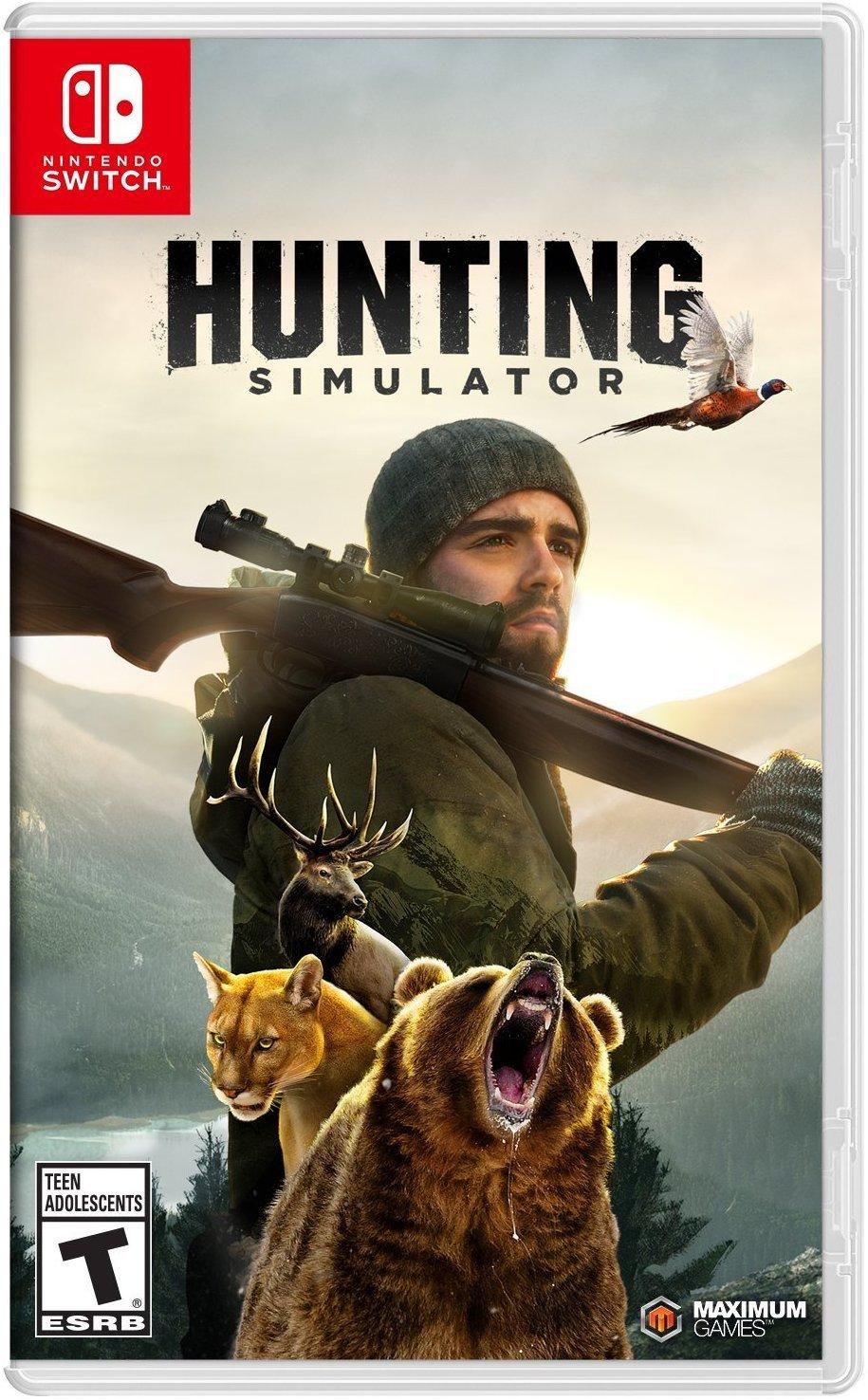 Hunting Simulator for Nintendo Switch [USA]: Amazon.es: Maximum ...