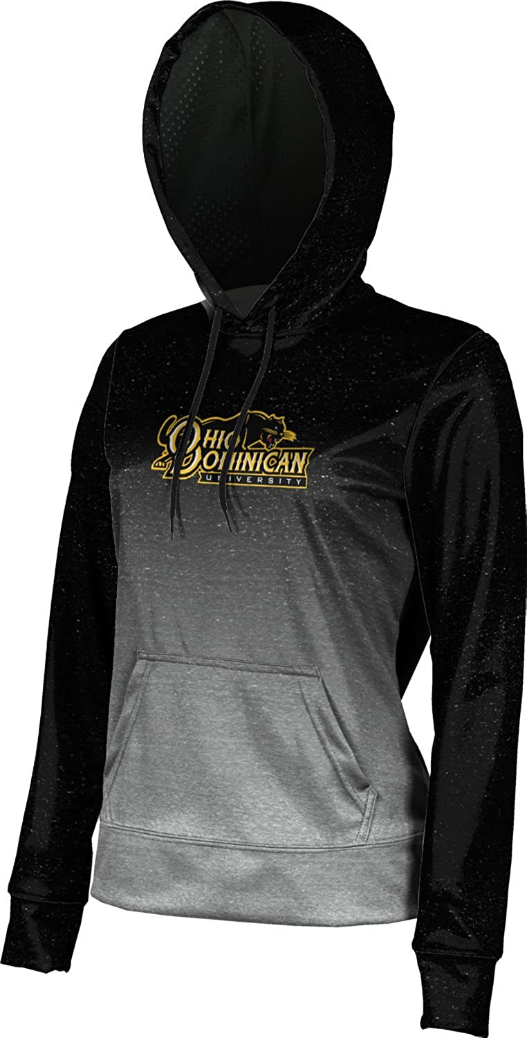 School Spirit Sweatshirt ProSphere Ohio Dominican University Girls Pullover Hoodie Ombre