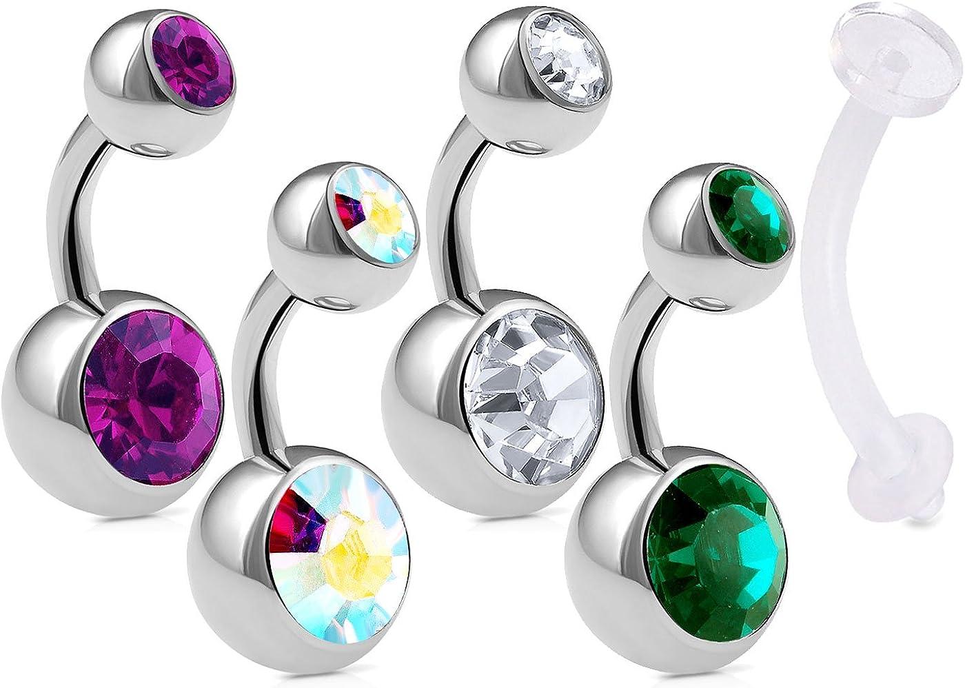 Belly Ring Body Jewelry Navel Ring Navel Jewelry Kajal Belly Button Ring Belly Button Jewelry Navel Pierceing Body Piercing