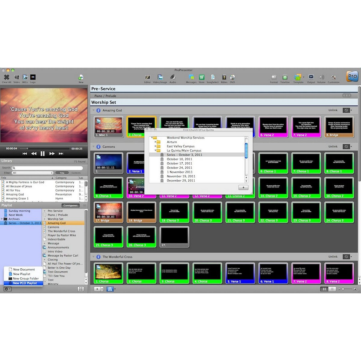 Renewed Vision ProPresenter 6 Campus License | Campus License both Mac and PC Electronic Delivery by Renewed Vision