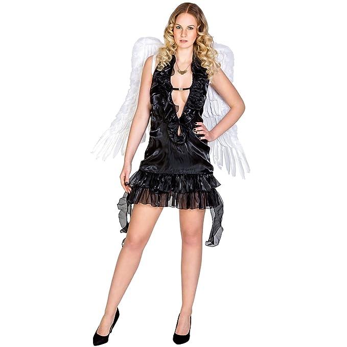 TecTake dressforfun Disfraz para Mujer de ángel | Negro (S | no ...