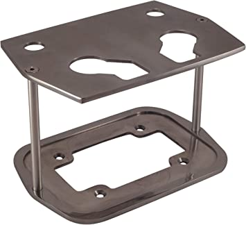 Polished Billet Aluminum Optima Battery Tray Group 34 78 Smooth Top