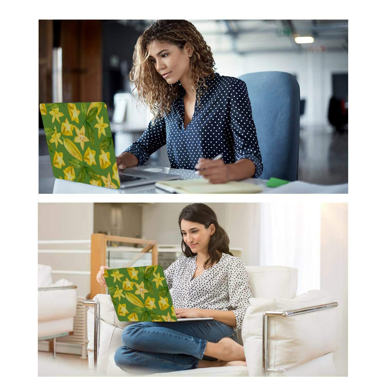 MacBook Air Skin Rustic Fashion Cute Fruit Carambola Plastic Hard Shell Compatible Mac Air 11 Pro 13 15 MacBook Air Skin Protection for MacBook 2016-2019 Version