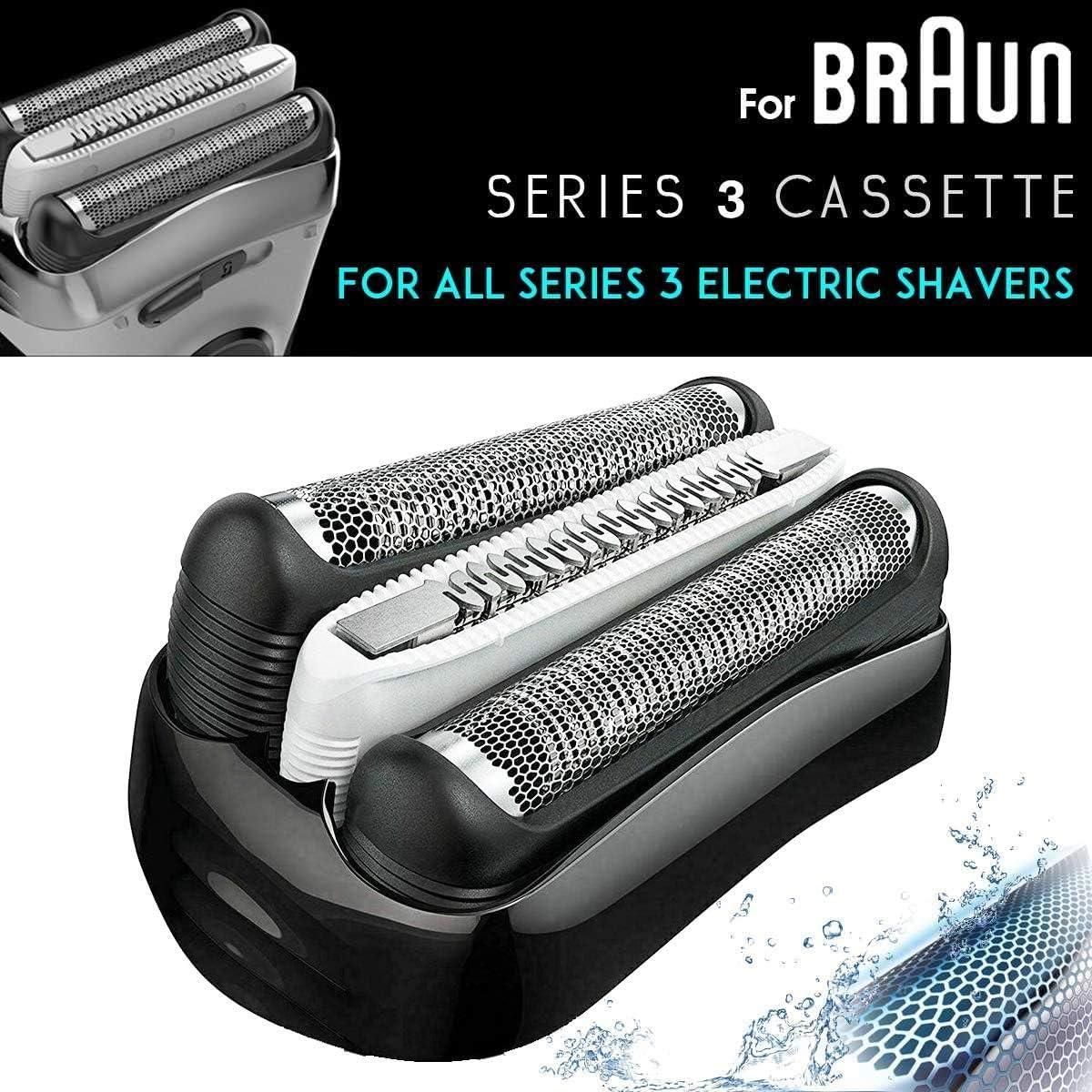 Poweka 32B Series para Braun de recambio para maquinilla de ...