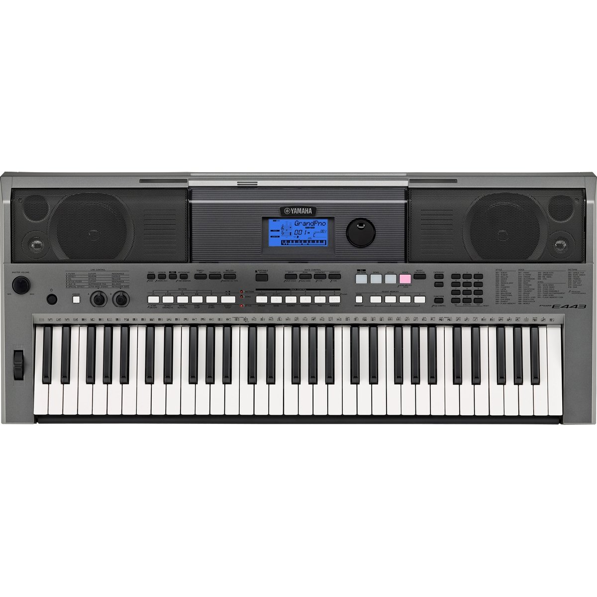 Yamaha PSRE443 61-Key Portable Keyboard by YAMAHA