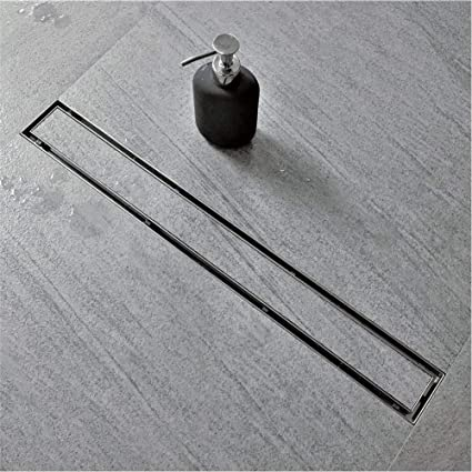 Neodrain 28 Inch Linear Shower Drain With Tile Insert Grate, Brushed 304  Stainless Steel