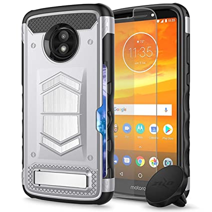 Amazon.com: Verizon Moto E5 GO - Funda con función atril ...