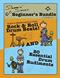 "Slammin' Simon's Beginner's Bundle: 2 books in 1!: ""Guide to Mastering Your First Rock & Roll Drum Beats"" AND ""20…"