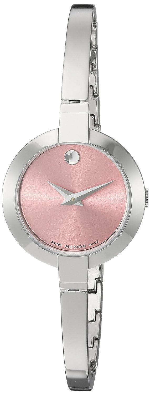 Movado Women s 0606596 Bela Stainless Steel Bangle Watch