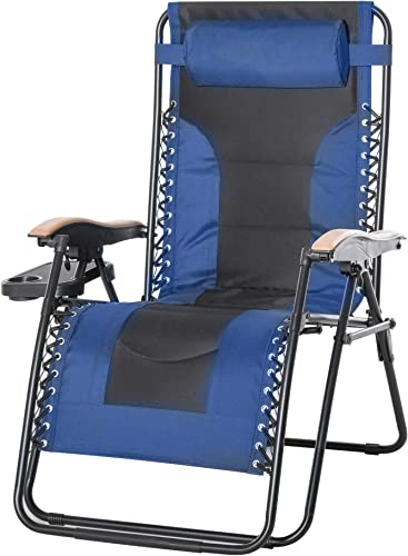 Outsunny Adjustable Zero Gravity Lounge Chair Review