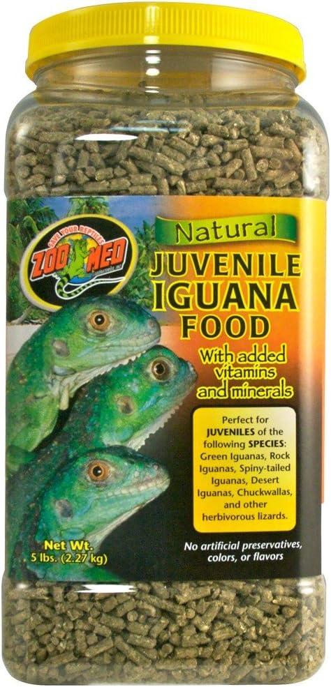 Zoo Med Natural Iguana Food Juvenile Formula (5 lb)