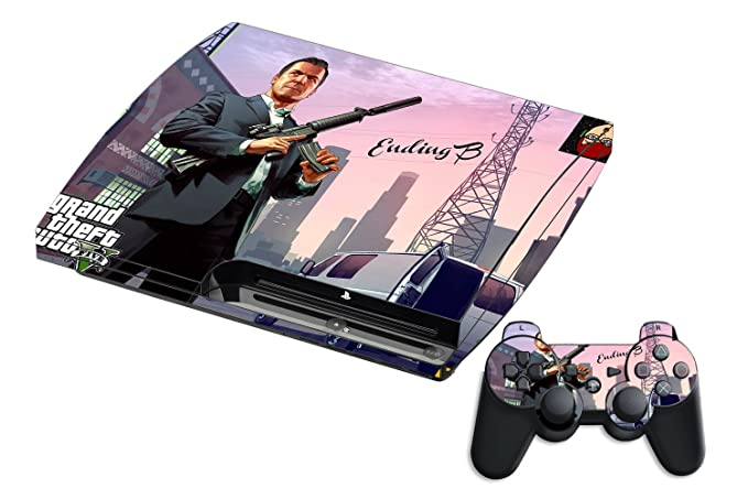 Buy GADGETS WRAP Printed Grand Theft Auto 6 Theme Leather