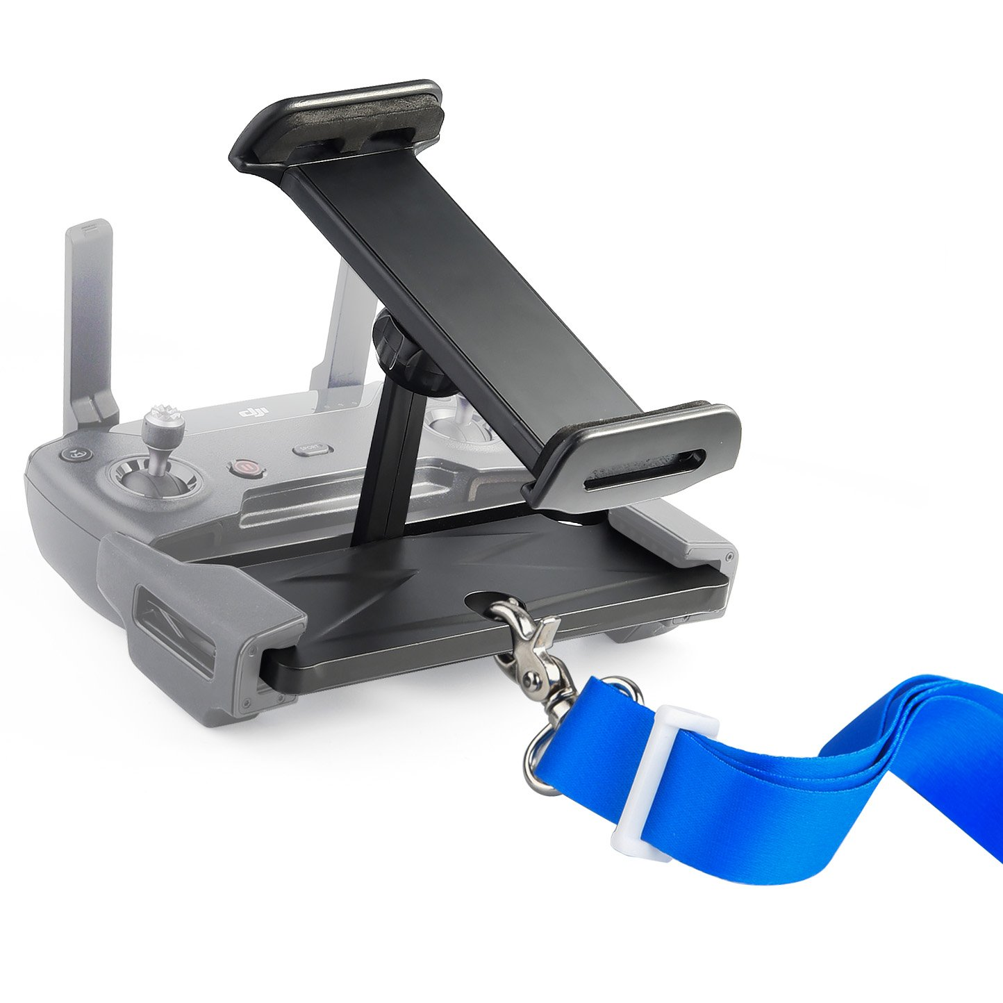 KUUQA Foldable Tablet Stand Holder Extender with Lanyard for Dji Mavic Air/ Mavic Pro/ Spark Remote Controller Device (Drone Not Included)