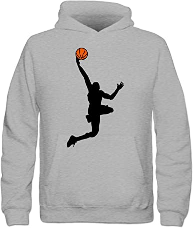 Baloncesto Dunk Ilustración Niños sudadera con capucha by Camiseta ...